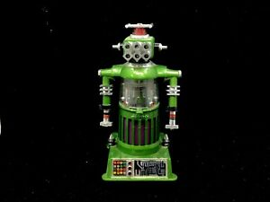 VINTAGE IDEAL TOY CORP 1968 - ELECTRONIC ROBOT ZEROIDS ZOGG