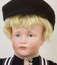 """Antique 19"""" 114 Hans Closed Mouth German Bisque Kammer Reinhardt Doll w/OrigBody"""