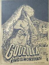 1954 Legend Godzilla Limited Figure Kit RIC 30 cm King of the Monsters Kaiju