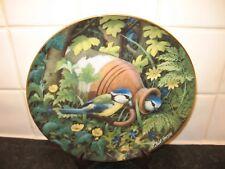 HIDDEN TREASURES   BIRD   PLATE   - HOME SWEET HOME    -  DANBURY  MINT
