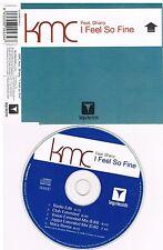 KMC Feat. Dhany – I Feel So Fine  CD Single 2002