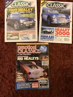 Austin Healey 3000 Selection of 3 Magazines from 1994 & 1995