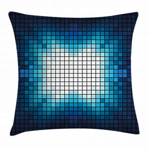 Square Throw Pillow Case for Couch & Bed Decor Cushion Pillow Cover by Ambesonne