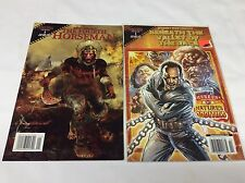 FANGORIA COMICS (KURTZMAN/4th Horseman/Valley RAGE/0815206) COMIC BOOK SET OF 2