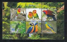 10x (10pcs) Nature Birds Parrots - perf Wholesale Private Issue PL54 not MNH
