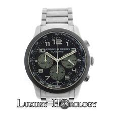 Authentic Men's Porsche Design P'6612 Titanium Date Chronograph Automatic Watch