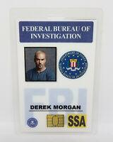 Criminal Minds ID Badge - Derek Morgan costume prop cosplay