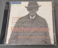 RACHMANINOV: SONATA IN G MINOR; LUTOSLAWSKI: GRAVE FOR CELLO AND PIANO; WEBERN:
