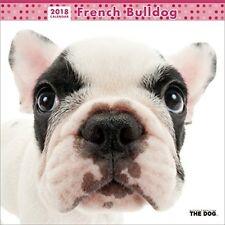 THE DOG Wall Calendar 2018 French Bulldog