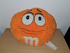 More details for m&m's world orange face round pillow plush