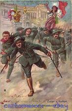 WW1 WWI Propaganda - Bersagliere - Bandiera Italiana Tricolore - Ronchi - PV269