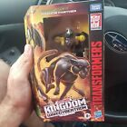 Transformers Kingdom Deluxe Class Shadow Panther In Hand Mint WFC-31