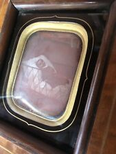 More details for extremely unique rare momento mori daguerreotype not a tintype or ambrotype