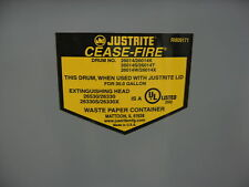 Just Rite 30 Gallon Waste Receptacle