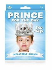 NPW Prince for The Day - Crown Inflatable Baby Parties Party 3 Birthday