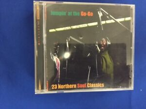 VARIOUS ARTISTS-JUMPIN' AT THE GO-GO-23 NORTHERN SOUL CLASSICS-CD-REF- 2087