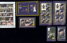 AITUTAKI Cook Islands S/S Lot #562 -68 MNH Prince William & Kate Middleton FOS71