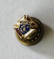 K of C Tiny Club Lapel Pin Badge Rare Vintage (J9)