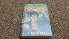 HARRY POTTER AND THE GOBLET OF FIRE, J.K. ROWLING, 1st American ed.