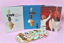 Live 8 (2005,4DVD's)ft. Pink Floyd & Roger Waters,McCartney Paul,Madonna,Shakira