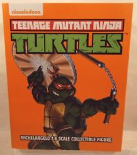 Teenage Mutant Ninja Turtles Michaelangelo 1:6 Collectable Figure By Mondo MIB
