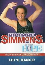 Richard Simmons LET'S DANCE (DVD) workouts cardio training project h.o.p.e. NEW