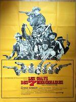 Plakat Kino Western Les Colts Des 7 Söldner - 120 X 160 CM