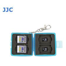 JJC MC-11B Small Memory Card Case fits 4 SD 4 MSD T6I T7I 70D 80D D5500 D3300 T6