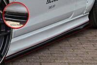 Cup2 Seitenschweller Schwert aus ABS für VW Passat B8 3G schwarz glanz
