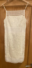 Topshop White Lace Summer Dress New With Tags Size 14