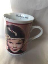 "Danbury Mint Shirley Temple Porcelain Mug ""Bright Eyes """