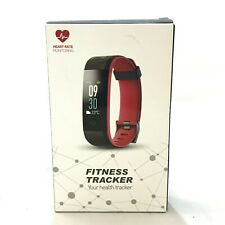 FITNESS TRACKER Smart Band Pedometer Heart Rate Sports Health Resin Strap 151176