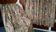 Linen Blend Country Tape Top Curtains & Pelmets