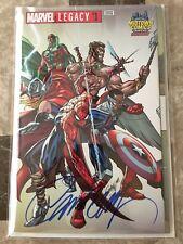 Marvel Legacy 1 J. Scott Campbell Signed variant Midtown Comics Exclusive Comic