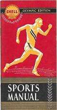 Vorschau auf die Olympischen Spiele 1936 in Deutschland - von Fa. Shell (USA)