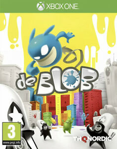 Xbox One DE BLOB NEW Game * Unwanted Xmas Gift