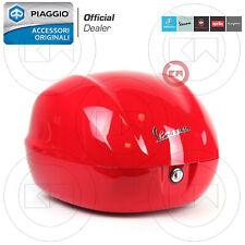 BAULETTO 32 Lt ROSSO DRAGON 894 ORIGINALE VESPA PRIMAVERA / SPRINT 50 125 150
