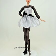 Barbie Fashion Avenue Silver and Black Party Outfit New out of box