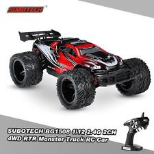 SUBOTECH BG1508 1/12 2.4G 2CH 4WD RACING RTR MONSTER TRUCK RC CAR NEW R6T5