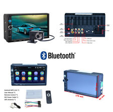 HD Capacitive Touch Screen Android MP5 Unit GPS FM Radio Rearview Camera for Car