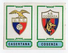 figurina CALCIATORI PANINI 1982/83 NEW numero 496 CASERTANA COSENZA