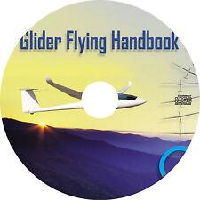 Glider Flying Handbook (2015) Sailplane Pilot Training Manual Book on CD