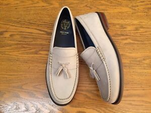 COLE HAAN MENS PINCH FRIDAY TASSEL CONTEMPORARY LOAFERS C27599 NWOB SIZE 11.5