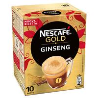 CAFFE SOLUBILE AL GINSENG NESCAFè GOLD GINSENG COFFE 10 BUSTINE MISCELA ARABICA
