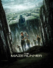 Maze Runner art booklet for Steelbook New 32 pages Limited Edition