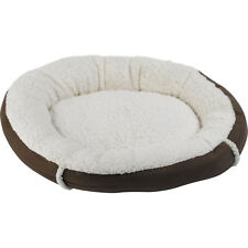 Soft Faux Suede Cat Bed Cozy Mollies Cushioned Kitten Puppy Bedding Pet Basket