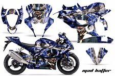 AMR Racing Graphic Kit Wrap Part Suzuki GSXR 1000 Street Bike 05-06 MAD HATTER