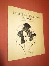 Femmes De ' Ariège: Antología (Poesía - Escritores - Pintor - Cantantes)