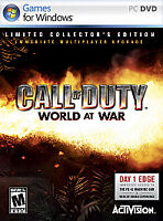 Call of Duty: World at War - Limited Collector's Edition (PC, 2008)