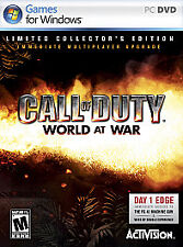 Call of Duty: World at War -- Limited Collector's Edition (PC, 2008)